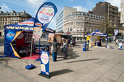 Kingsmill Big Lunch Tour reaches Sheffield.http://www.pauldaviddrabble.co.uk.11 April 2012 .Image © Paul David Drabble