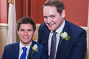 The Wedding of Philip & Matthew Saturday 27 January 2018 at the Town Hall, Brighton, East Sussex Photo by Jane Stokes (DJ Stotty Images)