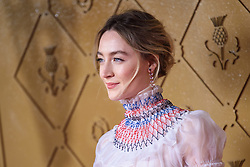 Saoirse Ronan attending the premiere of Mary Queen of Scots, at the Cineworld cinema in Leicester Square, London. Picture date: Monday December 10, 2018. Photo credit should read: Matt Crossick/ EMPICS Entertainment.