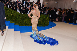 Blake Lively arriving at The Metropolitan Museum of Art Costume Institute Benefit celebrating the opening of Rei Kawakubo / Comme des Garcons : Art of the In-Between held at The Metropolitan Museum of Art  in New York, NY, on May 1, 2017. (Photo by Anthony Behar) *** Please Use Credit from Credit Field ***