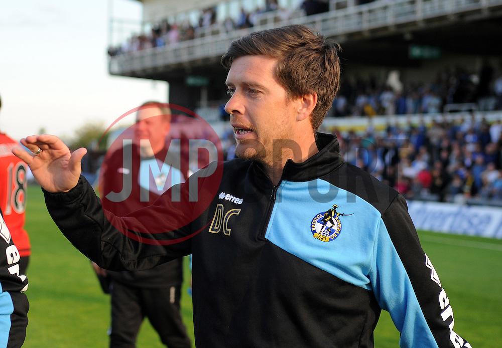 Bristol Rovers manager, Darrell Clarke  - Mandatory by-line: Neil Brookman/JMP - 07966386802 - 31/07/2015 - SPORT - FOOTBALL - Bristol,England - Memorial Stadium - Bristol Rovers v West Brom - Pre-Season Friendly