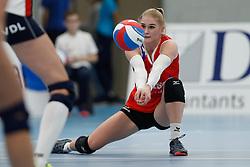 20190112 NED: Sliedrecht Sport - VC Sneek: Sliedrecht<br />Hester Jasper (4) of VC Sneek<br />©2019-FotoHoogendoorn.nl / Pim Waslander