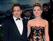 Amber Heard & Johnny Depp - Venice Film Festival