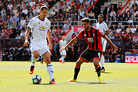 Football - 2016 / 2017 Premier League - AFC Bournemouth vs. Manchester United<br /> Manchester United's Zlatan Ibrahimovic and Bournemouth's Andrew Surman in action at Dean Court (The Vitality Stadium) Bournemouth<br /> <br /> Colorsport/Shaun Boggust