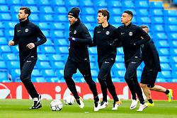 PSG players train - Mandatory byline: Matt McNulty/JMP - 07966386802 - 11/04/2016 - FOOTBALL - Manchester City v PSG - Etihad Stadium -Manchester,England - UEFA Champions League