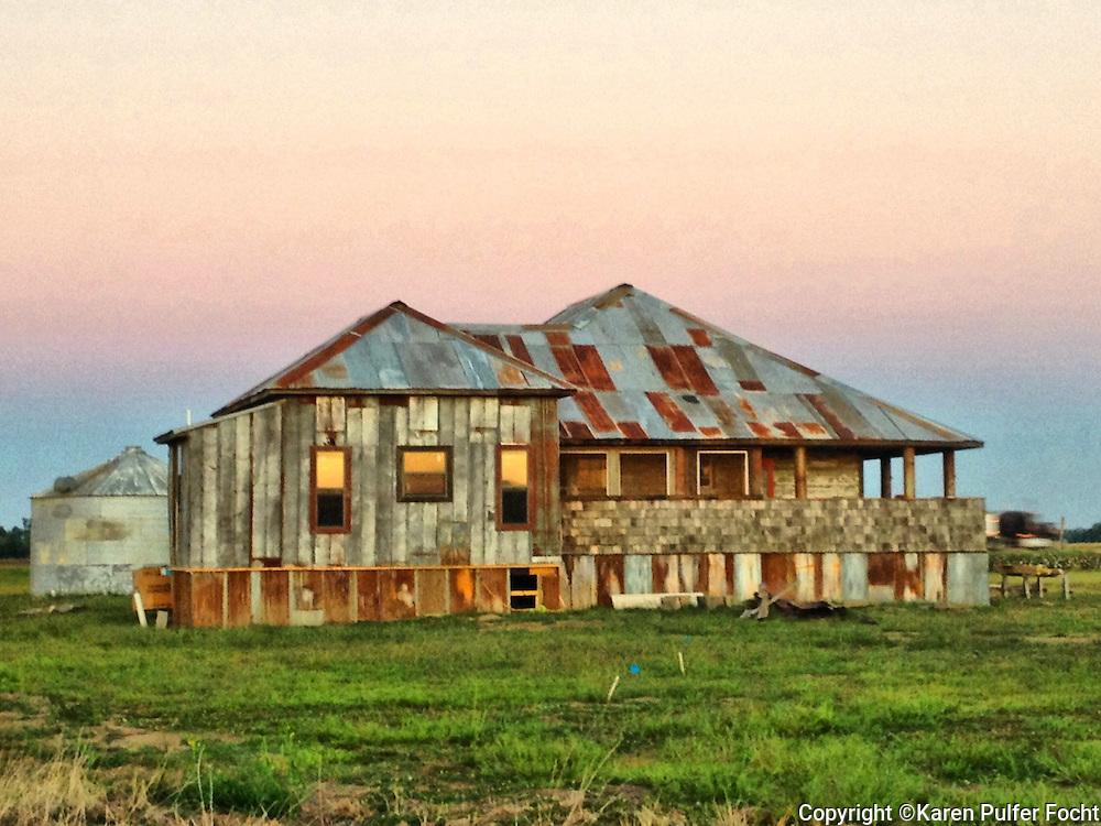 Shack. Clarksdale, Mississippi, Delta.