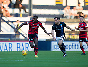 Dundee&rsquo;s Glen Kamara goes past Raith&rsquo;s Liam Buchanan - Raith Rovers v Dundee, Betfred Cup at Starks Park, Kirkcaldy, Photo: David Young<br /> <br />  - &copy; David Young - www.davidyoungphoto.co.uk - email: davidyoungphoto@gmail.com