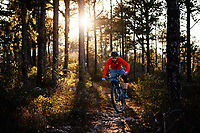 Mountain biking in the Blue Ridge Mountains. Mountain biking man, woman, kids in virgina, north carolina, montana, and california.