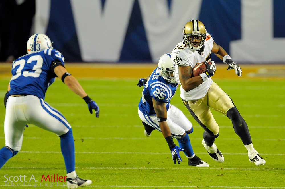Miami, FL, USA; New Orleans Saints wide receiver Marques Colston #12 during the Saints victory over the Indianapolis Colts 31-17 in Super Bowl XLIV at Sun Life Stadium on Feb 7, 2010...©2010 Scott A. Miller