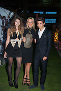 JEMIMA SIEFF; HAYLEY SIEFF;  JACK SIEFF; , Gabrielle's Gala 2013 in aid of  Gabrielle's Angels Foundation UK , Battersea Power station. London. 2 May 2013.