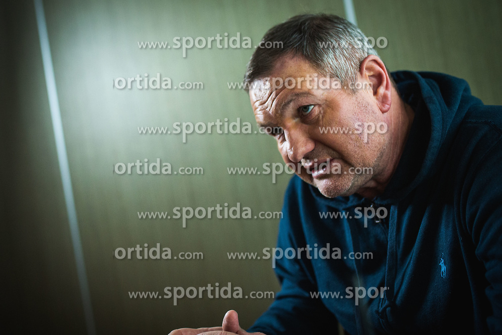 Matjaz Kek head coach of Slovenian national football team during interview on December 27, 2019 in Maribor, Slovenia. Photo By Grega Valancic / Sportida