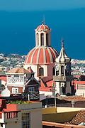 Cathedral of La Orotava, Teneriffa, Canary islands,Spain
