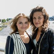NLD/Amsterdam/20160829 - Seizoenspresentatie RTL 2016 / 2017, Vajen van den Bosch en Holly Brood