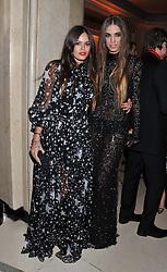 Left to right, ATLANTA NOO de CADENET TAYLOR and AMBER LE BON at the Harper's Bazaar Women of the Year Awards 2011 held at Claridge's, Brook Street, London on 7th November 2011.