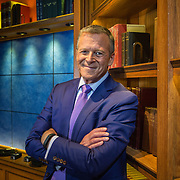 Washington, DC: Peter Slen, Senior Executive Producer, Book TV, C-SPAN, in the studio in Washington, DC.