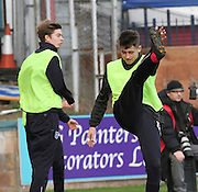 16 year old Kyle Gourlay was Dundee's substitute goalkeeper for Dundee v Hamilton, SPFL Premiership at Dens Park<br /> <br />  - &copy; David Young - www.davidyoungphoto.co.uk - email: davidyoungphoto@gmail.com