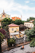View of Wat Lanka, Phnom Penh