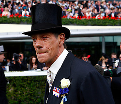 Sir Henry Cecil, 10-time champion trainer, has died at the age of 70.<br /> Responsible for 25 British Classic winners, Cecil was also the leading handler at Royal Ascot with a record 75 successes.<br /> Sir Henry Cecil after Frankel won the Queen Anne Stakes at Royal Ascot. <br /> Royal Ascot 19.6.12.<br /> Photo by: Racingfotos.com / i-Images.