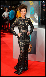 Helen McCrory arrives for the EE BRITISH ACADEMY FILM AWARDS 2014 (BAFTA) at the The Royal Opera House in Covent Garden . London, United Kingdom. Sunday, 16th February 2014. Picture by Andrew Parsons / i-Images