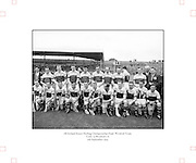 Neg No:.594/8096-8100,.5091954AISHCF,..05.09.1954, 09.05.1954, 5th September 1954,.All Ireland Senior Hurling Championship - Final,...Cork.1-9,. Wexford.1-6,...Wexford Team.Back row (from left),.Martin Flood, Nicky Rackard, Bobbie Rackard, Jim Morrissey, Nick O'Donnell, Ted B, Mick O'Hanlon, C O'R, D Hearn, Front row (from left) Jim Russell, Robert Donavan, X, Art Foley, P Kehoe, Ned W, Paddy K, Billy Rackard, X Hearne, Tim Flood, John H,..Review/check names.