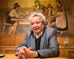 THEMENBILD - Interview mit Tirols Alt Landeshauptmann Wendelin Weingartner anlässlich seines 80. Geburtstag, im Stieglbräu in Innsbruck am 2. Februar. 2017. EXPA Pictures © 2017, PhotoCredit: EXPA/ Johann Groder