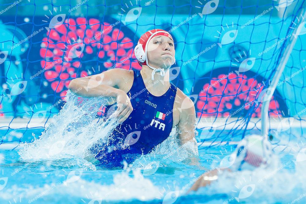 Team Italy ITA<br /> Waterpolo Women Final Match Bronze Medal<br /> 1st European Olympic Games <br /> Baku Azerbaijan 12-28/08/2015<br /> Photo Andrea Masini/Deepbluemedia/Insidefoto