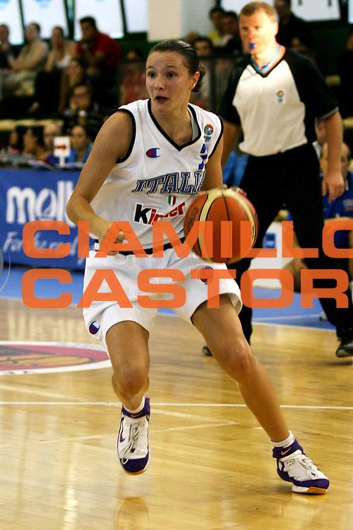 DESCRIZIONE : Chieti UMCOR U18 European Championship Women Division B Italy Ukraine<br /> GIOCATORE : Sottana<br /> SQUADRA : Italy<br /> EVENTO : UMCOR U18 European Championship Women Division B<br /> GARA : Italy Ukraine<br /> DATA : 27/07/2006<br /> CATEGORIA : Palleggio<br /> SPORT : Pallacanestro<br /> AUTORE : Agenzia Ciamillo-Castoria/L.Lussoso<br /> Galleria : UMCOR U18 European Championship Women Division B<br /> Fotonotizia : Chieti UMCOR U18 European Championship Women Division B Italy Ukraine<br /> Predefinita :