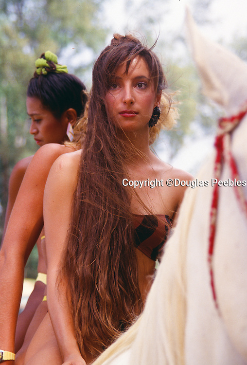 Woman on Horse, Kauai