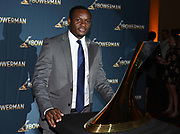 Dec 20, 2018; San Antonio, TX, USA; Men's 2011 winner Ngoni Makusha of Florida State poses  at the 10th Bowerman Awards at the JW Marriott San Antonio Hill Country Resort & Spa.