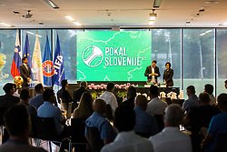 Pokal Slovenije during NZS Draw for season 2019/20, on June 21, 2019 in Celje, Maribor, Slovenia. Photo by Ziga Zupan / Sportida