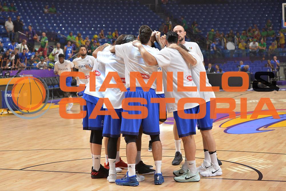Italia<br /> Nazionale Italiana Maschile Senior<br /> Eurobasket 2017 - Group Phase<br /> Lituania - Italia<br /> FIP 2017<br /> Tel Aviv, 03/09/2017<br /> Foto Ciamillo - Castoria/ M.Longo