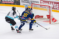 2019-11-27 | Rauma, Finland : Lukko (15) Vili Sopanen has a chance to score second goal during the game between Lukko-Pelicans in Kivikylän Areena ( Photo by: Elmeri Elo | Swe Press Photo )