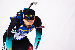 March 9, 2019 - –Stersund, Sweden - 190309 Martin Fourcade of France looks dejected after the Men's 10 KM sprint during the IBU World Championships Biathlon on March 9, 2019 in Östersund..Photo: Johan Axelsson / BILDBYRÃ…N / Cop 245 (Credit Image: © Johan Axelsson/Bildbyran via ZUMA Press)