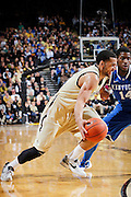 NASHVILLE, TN - FEBRUARY 11: Jeffery Taylor #44 of the Vanderbilt Commodores drives to the basket against the Kentucky Wildcats at Memorial Gymnasium on February 11, 2012 in Nashville, Tennessee. Kentucky won 69-63. (Photo by Joe Robbins) *** Local Caption *** Jeffery Taylor