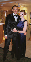 MR & MRS JEREMY MORRIS son of jeweller David Morris, at a gala evening in London on 9th June 1999.MSZ 22