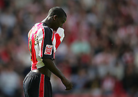 Photo: Lee Earle.<br /> Southampton v West Bromwich Albion. Coca Cola Championship. 12/08/2006. Southampton's Bradley Wright-Phillips looks gutted after going close.