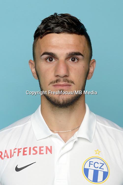 09.07.2015; Zuerich; Fussball Super League - Portrait Fc Zuerich; Armando Sadiku (Zuerich)<br /> (Claudia Minder/freshocus)