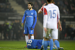 February 14, 2019 - Prague, CZECH REPUBLIC - Genk's Alejandro Pozuelo pictured during a soccer game between Czech club SK Slavia Praha and Belgian team KRC Genk, the first leg of the 1/16 finals (round of 32) in the Europa League competition, Thursday 14 February 2019 in Prague, Czech Republic. BELGA PHOTO YORICK JANSENS (Credit Image: © Yorick Jansens/Belga via ZUMA Press)