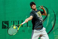 Blaz Kavcic during ATP Challenger Tilia Slovenia Open 2016, on August 6, 2016 in Portoroz/Portorose, Slovenia. Photo by Vid Ponikvar / Sportida