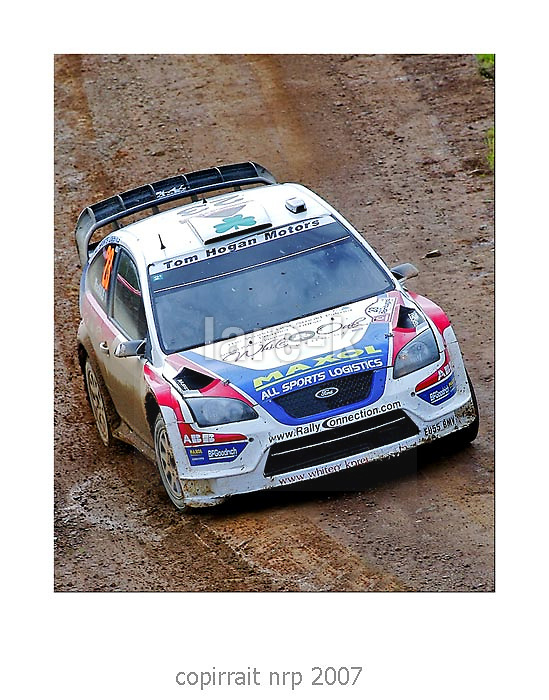 WRC PORTUGAL 2007 GARETH MACHALE<br />