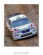 WRC PORTUGAL 2007 GARETH MACHALE<br /> FORD FOCUS WRC<br /> GARETH MACHALE TEAM