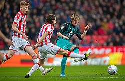 STOKE-ON-TRENT, ENGLAND - Saturday, January 25, 2020: Swansea City's Conor Gallagher during the Football League Championship match between Stoke City FC and Swansea City FC at the Britannia Stadium. (Pic by David Rawcliffe/Propaganda)