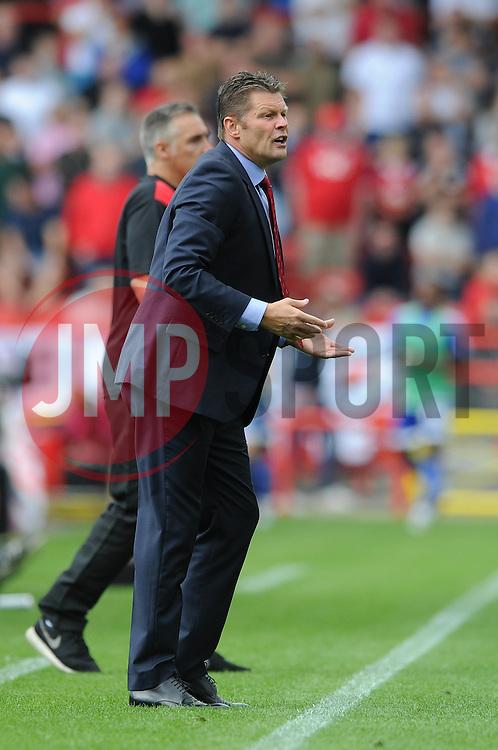 Bristol City manager, Steve Cotterill - Mandatory byline: Dougie Allward/JMP - 07966386802 - 15/08/2015 - FOOTBALL - Ashton Gate -Bristol,England - Bristol City v Brentford - Sky Bet Championship