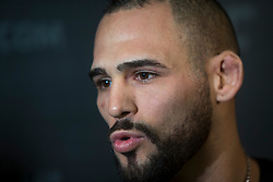 Santiago Ponzinibbio, No.14 welterweight contender. UFC Fight Night : Ultimate Media Day at the  Crowne Plaza Glasgow. This is for the forthcoming UFC Fight Night Glasgow at the SSE Hydro on 16th July 2017.