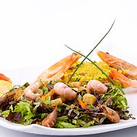 Prise de vue  des plats du Restaurant La pêche a la Turlutte a Plouharnel