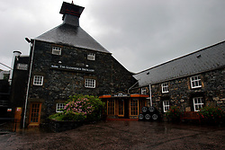UK SCOTLAND DUFFTOWN 24JUN04 - General view of the administrative building at the Glenfiddich destillery in Dufftown, Scotland, the world's Whisky capital. Glenfiddich is the largest family-owned single malt Whisky destillery worldwide with 80% of production destined for export.....jre/Photo by Jiri Rezac for Frankfurter Allgemeine....© Jiri Rezac 2004....Contact: +44 (0) 7050 110 417..Mobile:  +44 (0) 7801 337 683..Office:  +44 (0) 20 8968 9635....Email:   jiri@jirirezac.com..Web:    www.jirirezac.com....© All images Jiri Rezac 2004 - All rights reserved.