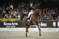 Lutkemeier Fabienne, (GER), D Agostino 5<br /> Grand Prix Kür<br /> Reem Acra FEI World Cup Dressage<br /> Stuttgart - German Masters 2015<br /> © Hippo Foto - Stefan Lafrentz