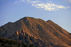 Stock photo of the Davis Mountains outside of Fort Davis, Texas - Jeff Davis County