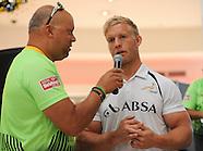 Springbok 7's signing at Cape Gate 15 November 2015