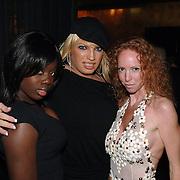 NLD/Amsterdam/20060123 - Feest release film 50 Cent, Mayday, Robin Blum en vriendinnen